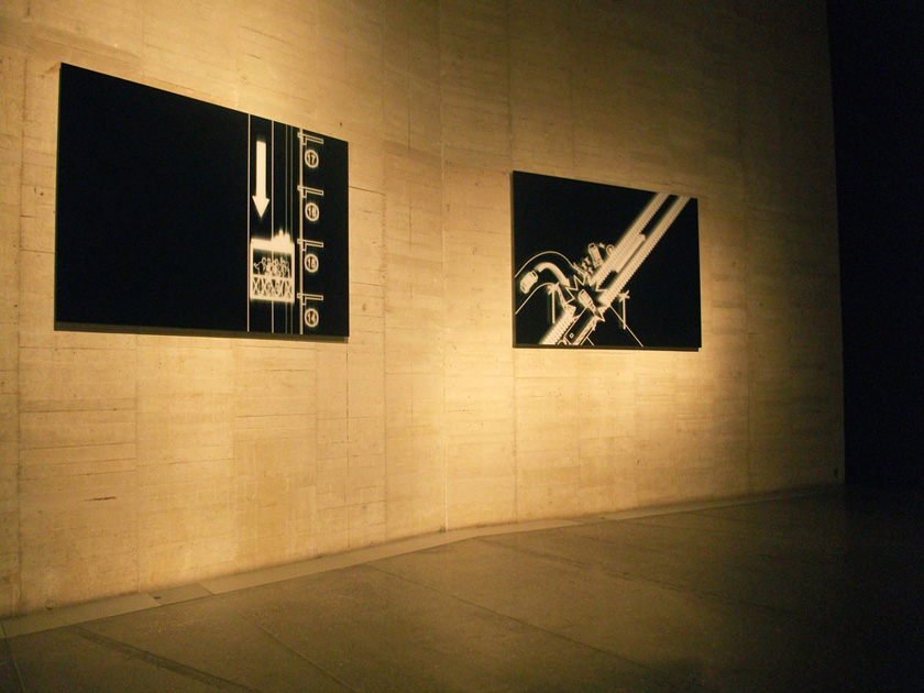 """Buenos Aires by Night"" series.  ""Modelos para armar"" (2010).  MUSAC. León, Spain.  Curators: Agustín Pérez Rubio, Octavio Zaya, María Inés Rodríguez."