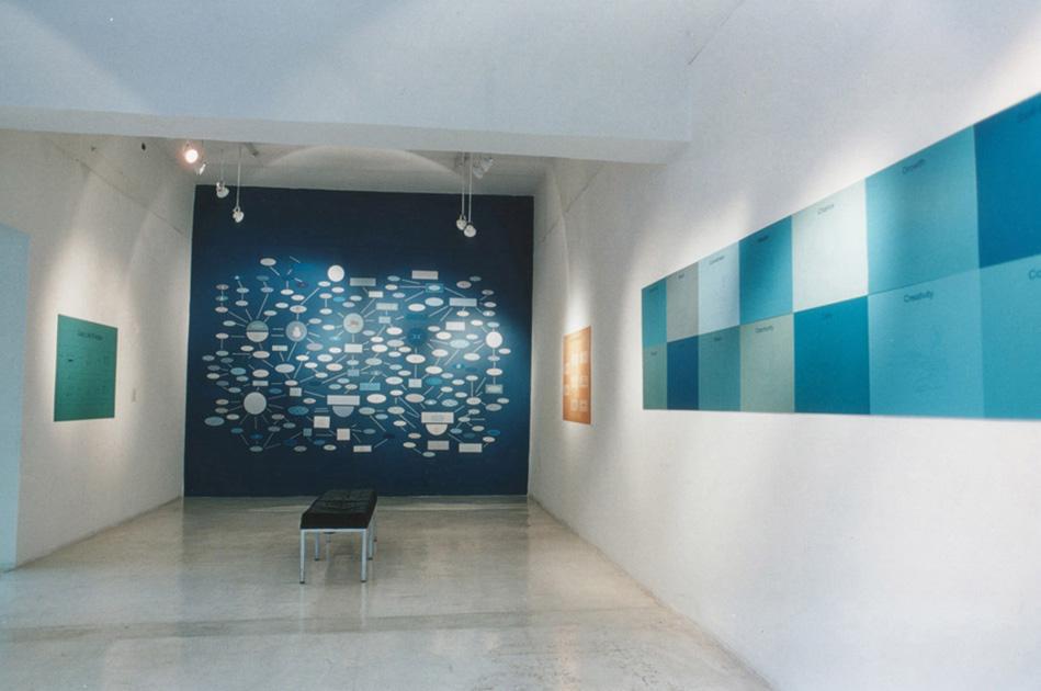 """""""Beyond Standard"""" (2000) Instalación Galería Gara, Buenos Aires"""