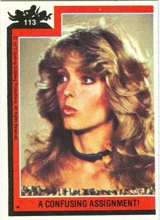 "An afterthought: Farrah Fawcett in ""Charlie's Angels"""