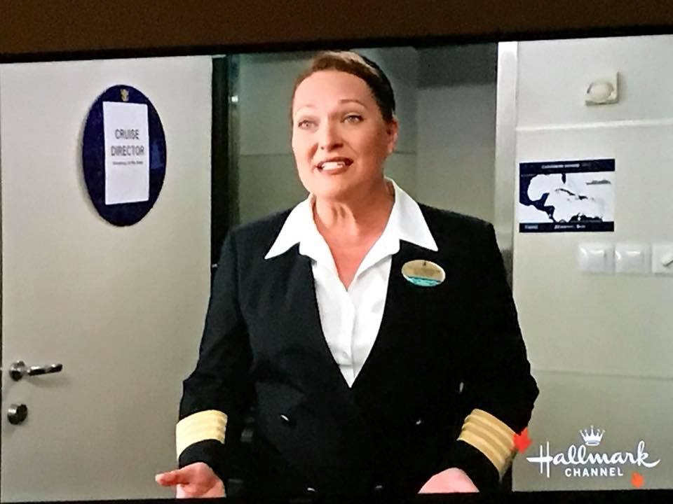 "Meghan in ""Love At Sea"" on The Hallmark Channel"