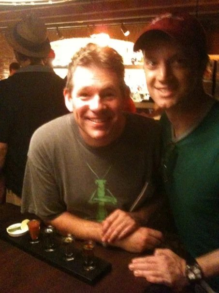I forgot to take a picture with Philip after we recorded the show! Here is an image ca. 2009 at the Tequila Cave at Epcot. (BTW, I highly recommend the avocado margarita)