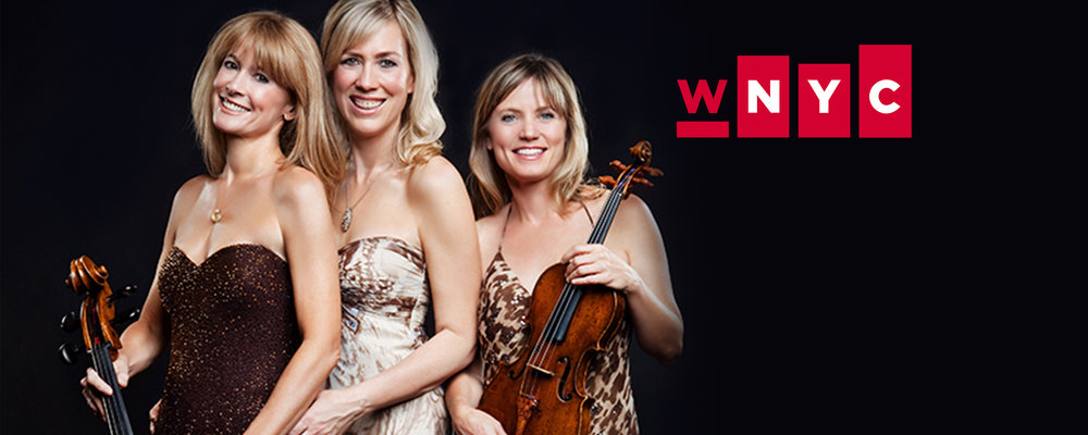 - WNYC Gig Alert:Eroica Trio at Symphony Space