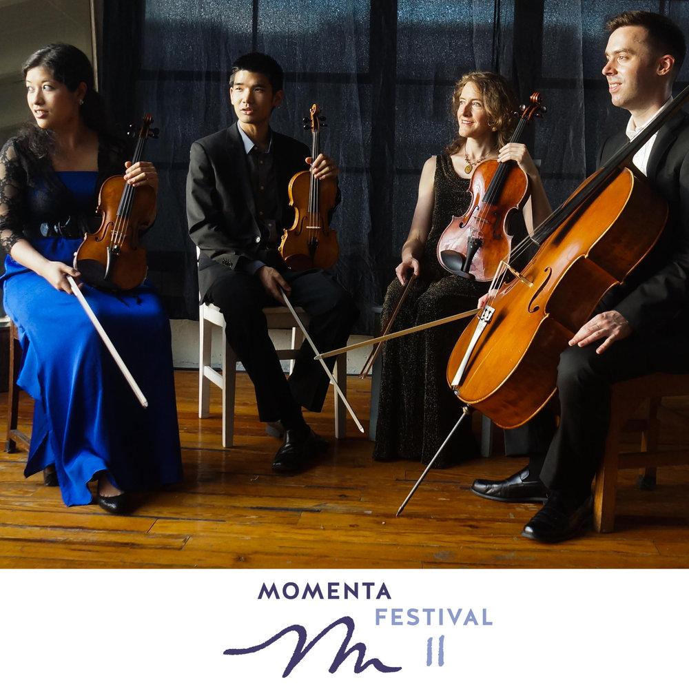 Momenta Quartet and the Momenta Festival