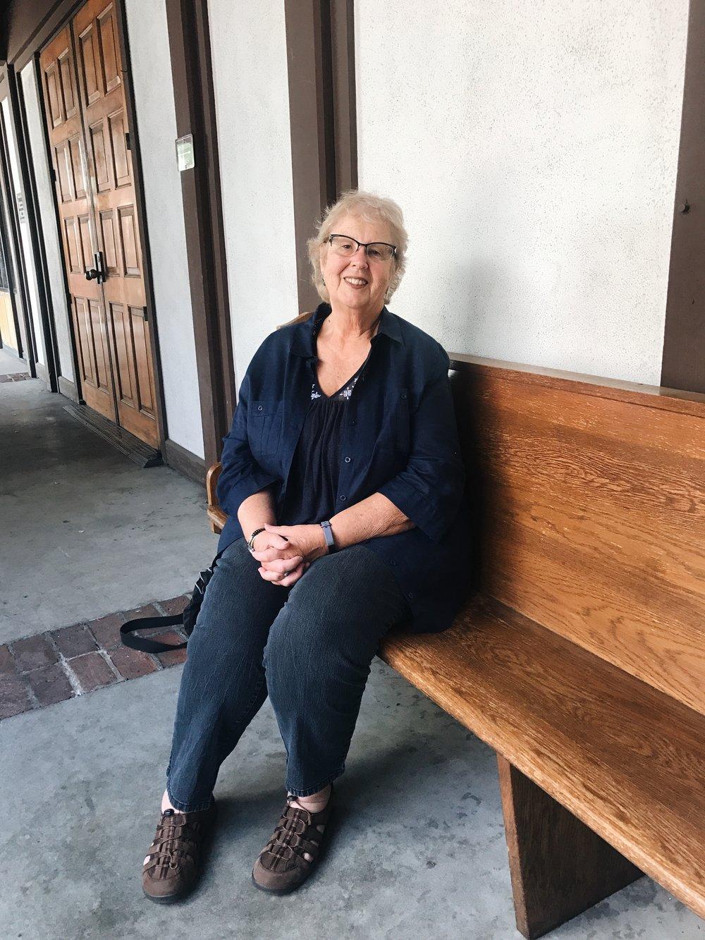 Dr. Norma Chinchilla at St. Luke's Episcopal Church in Long Beach