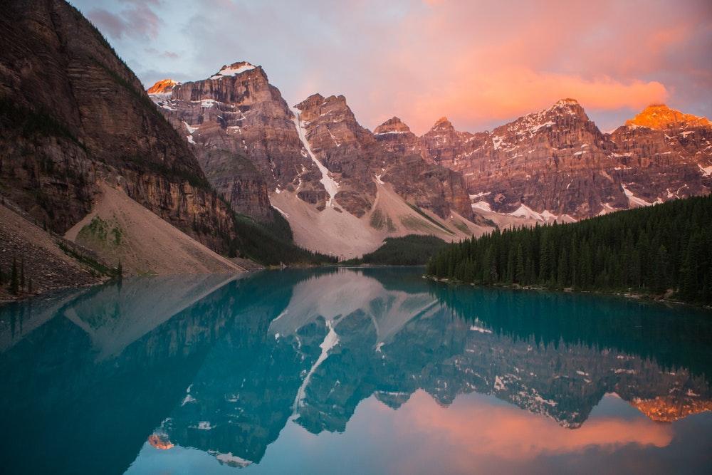 Banff National Park - Canada - A little colder than other destinations we are dreaming of, but not any less dramatic. Camping, hiking, and constant stunning views are just a few of the reasons Banff is on our list.