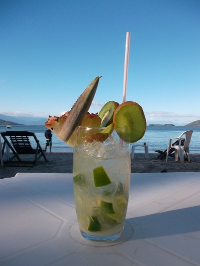 This isn't a Caipirinha on the Copacabana, but it is in Brazil!