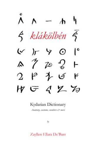 Language Dictionary for The Prince of Kydar series - M.K.