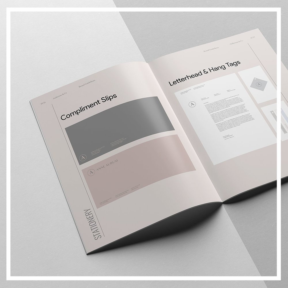 4 - the complete brand guide brand digital booklet includes prompts and detailed instructions