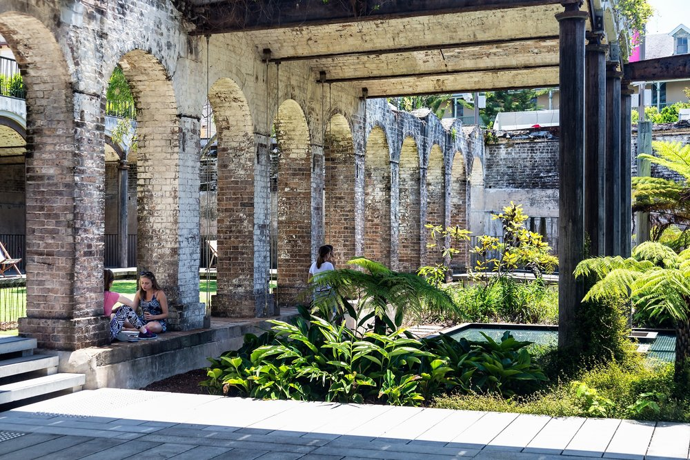 Sydney Paddington reservoir gardens