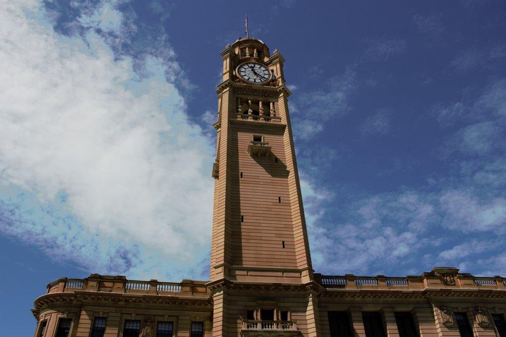 Sydney central railway