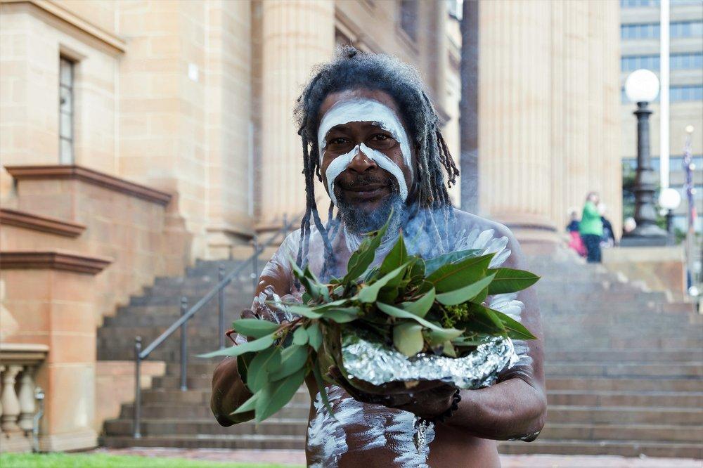 indigenous Australian opening ceremony