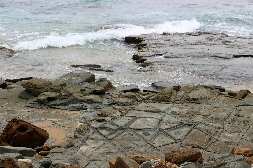 Alien messages or tessellated pavement?