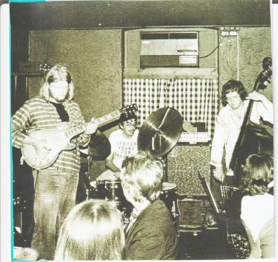 Arild Anderson quartet at Cafe Amalienborg July 1, 1976