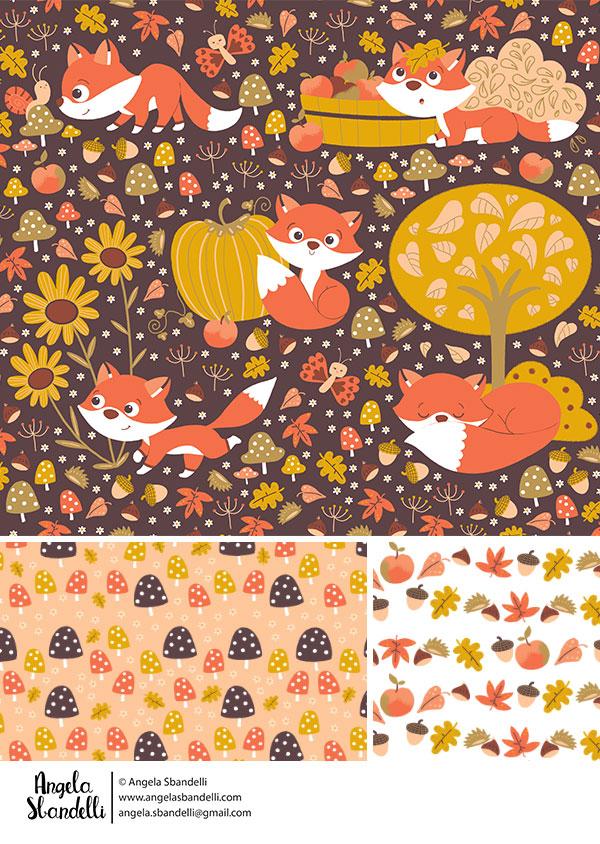 foxy fall by Angela Sbandelli