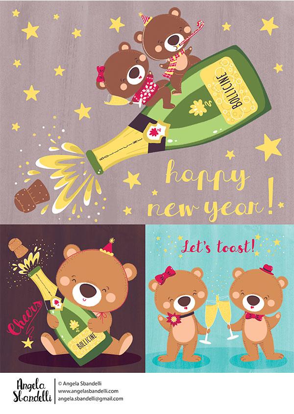 new year eve teddy bear