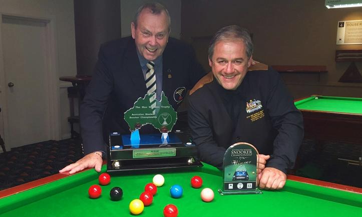 paul thomerson - australian masters snooker champion