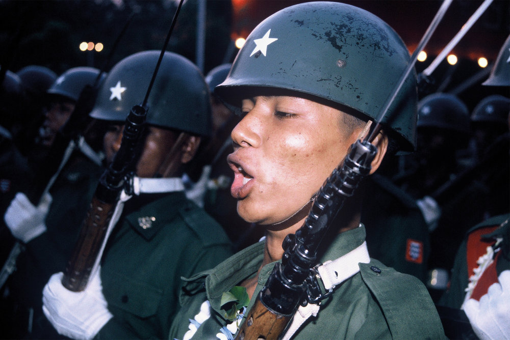 1996 Armed Force Day - Military Parade in Myanmar