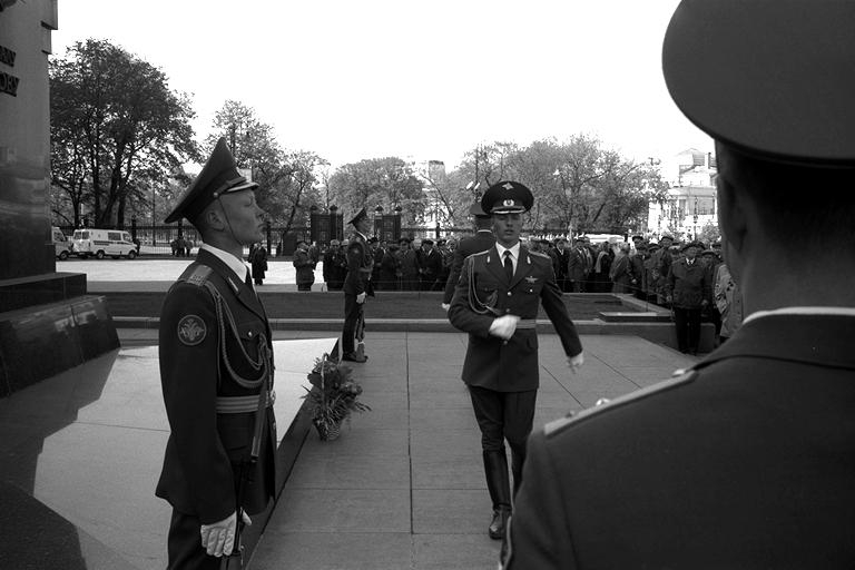 Moskau; Grab des unbekannten Soldaten