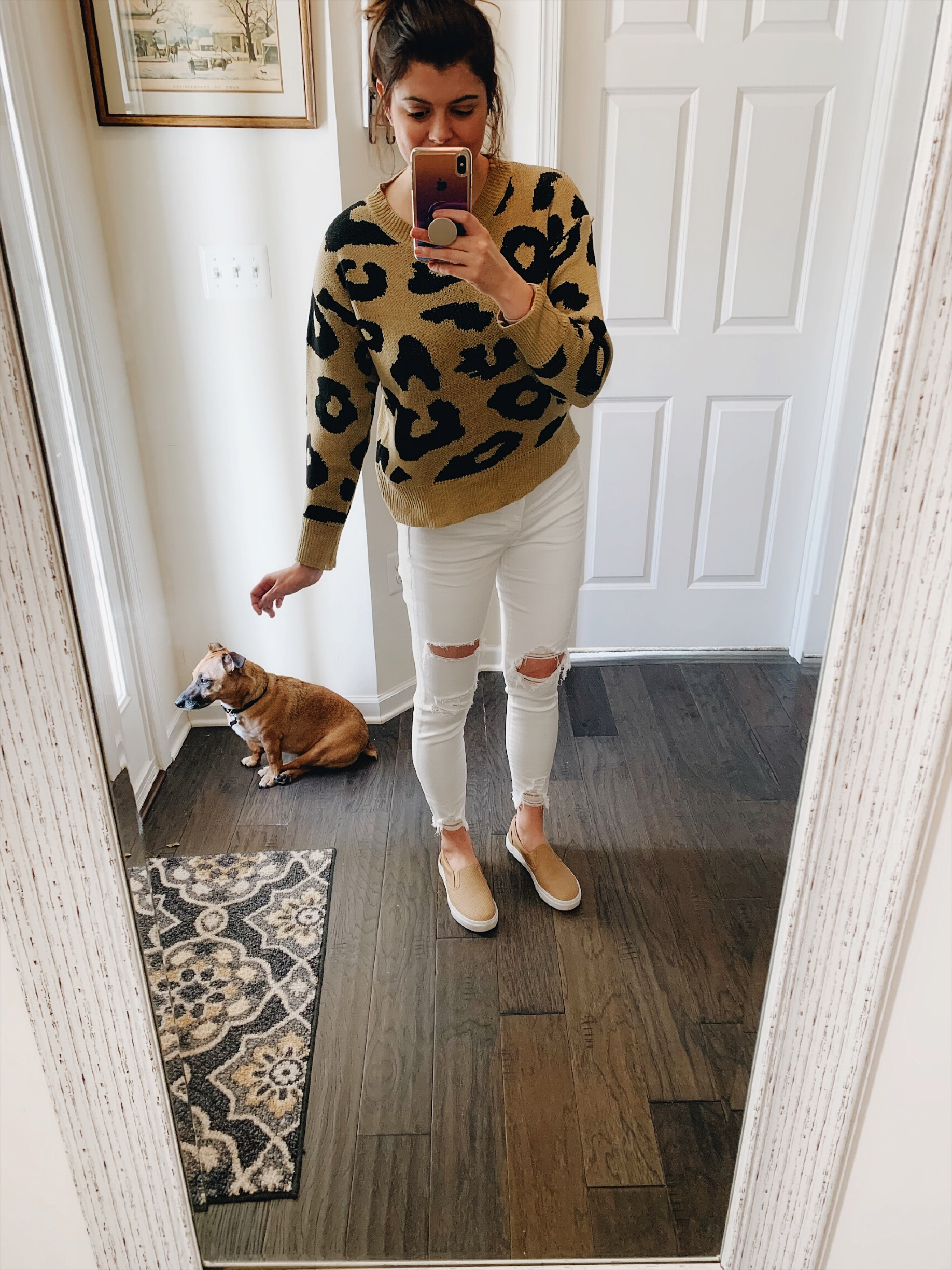 d8b0d14d370 Amazon & American Eagle Haul   Leopard and Jeans — ally on a whim