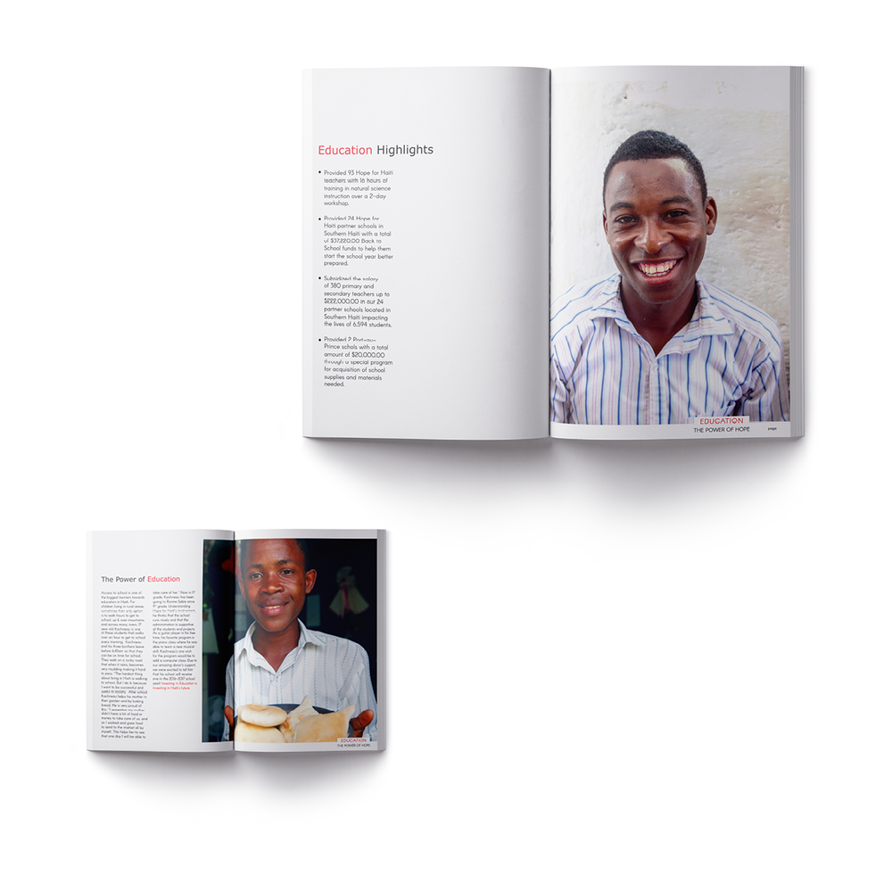 Hope For Haiti - Annual Report 2016