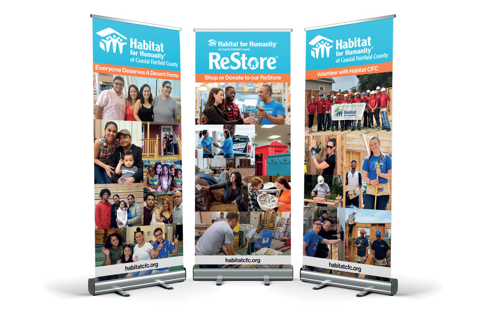 Habitat CFC Retractable Banners