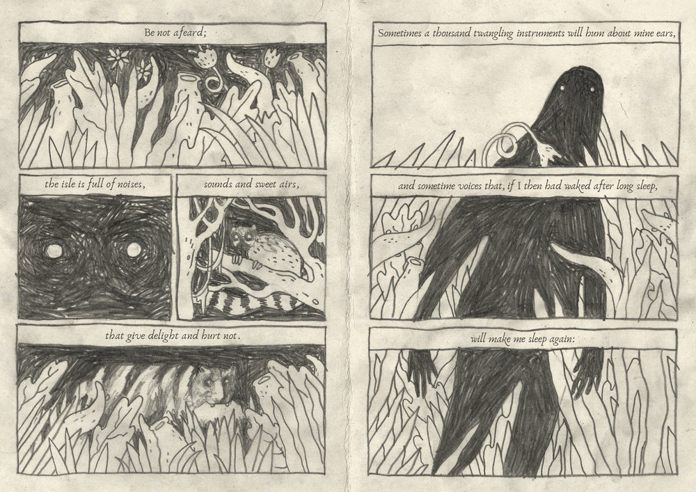 Caliban's Story
