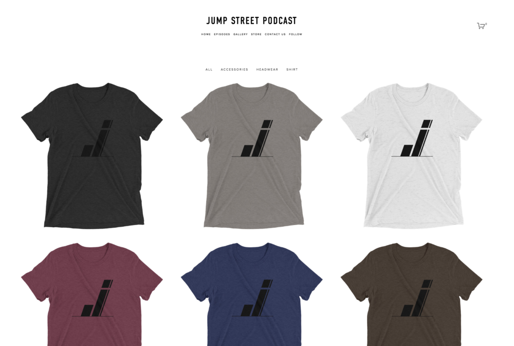 jump street podcast t shirt