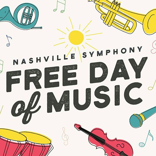 We're so excited to announce that the Music City Brass Ensemble will be performing at the Nashville Symphony Free Day of Music on Saturday, October 27! Come hear us perform a set of music by American composers from 12:45-1:30p inside the Laura Turner Concert Hall. We can't wait to be a part of this wonderful event! Unfamiliar with the FDOM? Find more details and a full performance schedule here: http://ow.ly/PzLA30mbcA1 @nashvillesymphony #musiccity #brass #concert #nashville #conductor #trumpet #horn #trombone #euphonium #tuba #percussion #classicalmusic #newmusic #americanmusic #do615 #nash #nashvillesymphony #freedayofmusic
