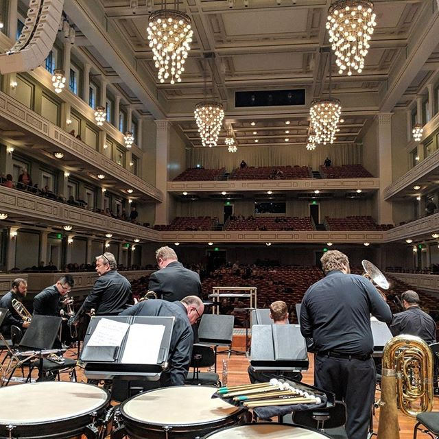 We had a great time performing at the @nashvillesymphony #freedayofmusic today! Thank you for having us, and we hope you all enjoyed the show! #musiccity #brass #trumpet #horn #trombone #euphonium #tuba #percussion #nashville #do615 #nashvillesymphony #music #community #sopro