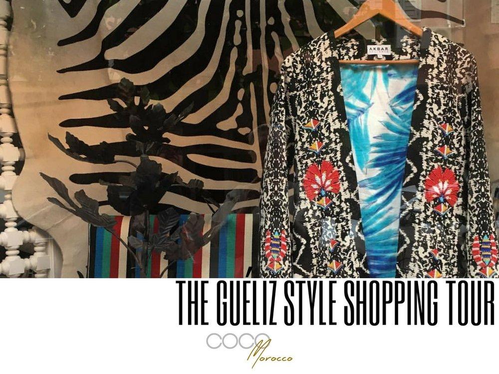 A marrakech shopping tour - Guéliz