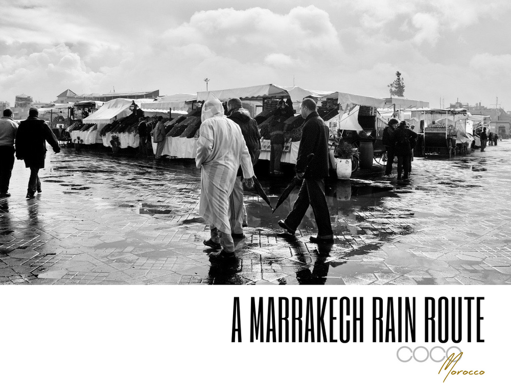 rain route Marrakech