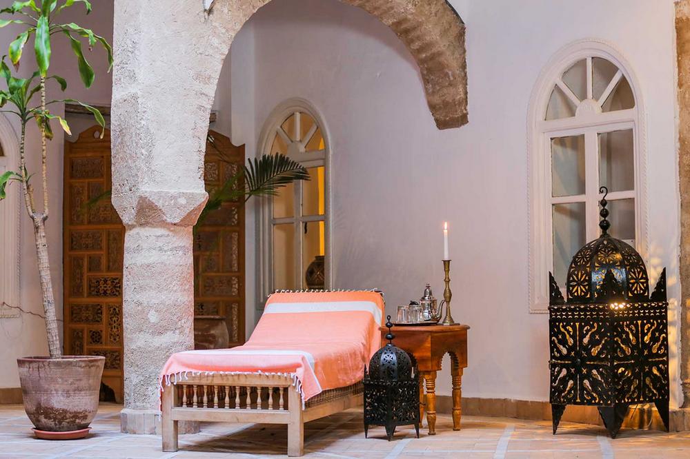 Villa Maroc, Essaouira. Ethnic chic