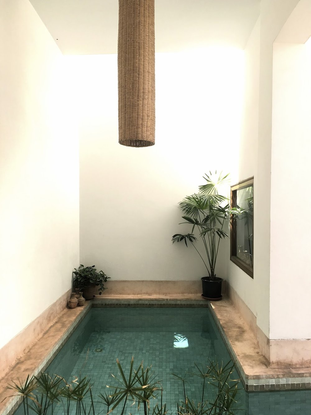 riad up, Marrakech, Medina, minimalism, patio, pool,urbanparadise