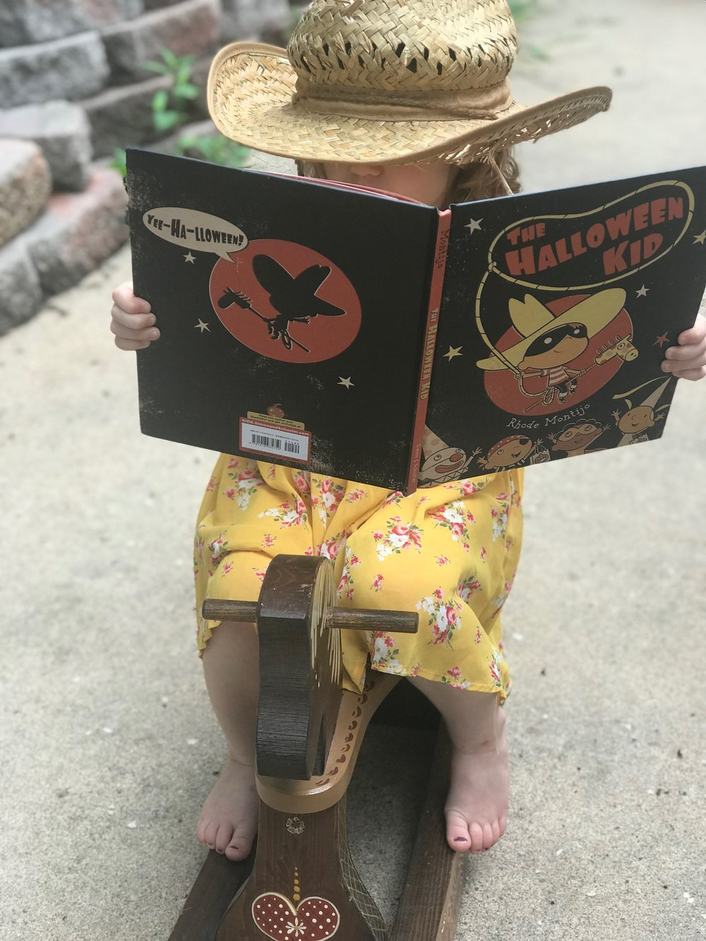 """- """"Not only did Rhode Montijo create a book championing Halloween, he created a literal Halloween champion - the defender of the holiday - the Halloween Kid."""""""