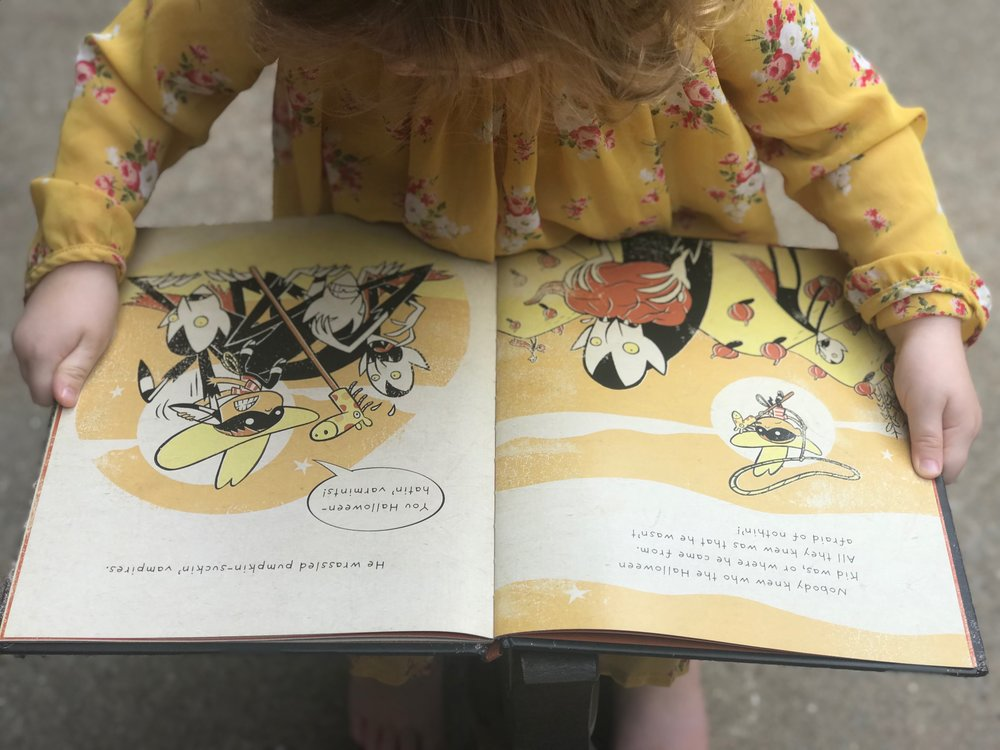 """- """"I have no doubt this is a book that my children will see when they're thirty and be washed over by waves of childhood Halloween nostalgia."""""""
