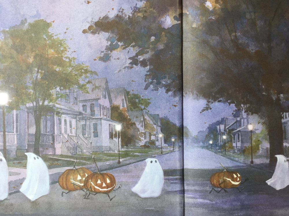 """- """"Muth's watercolors are jaw-dropping. Zen Ghosts contains two of the most beautiful Halloween drawings I've ever seen."""""""