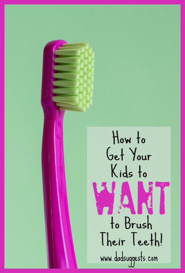 This is how you convince your kids to actually want to brush their teeth. Dad advice on making this daily chore a breeze. #brushingteeth #parenting #parentingadvice #raisingkids #dadsuggests