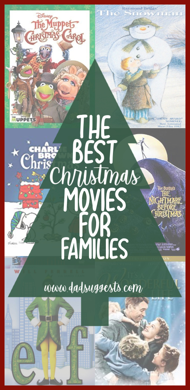 The very best Christmas movies and TV specials! These are the best celebrations of Christmas ever put on film. Share them with your kids and family this year to celebrate Christmas to the fullest and spread the cheer! #christmas #christmasmovies #familychristmas #christmasspecials #kidschristmas #dadsuggests