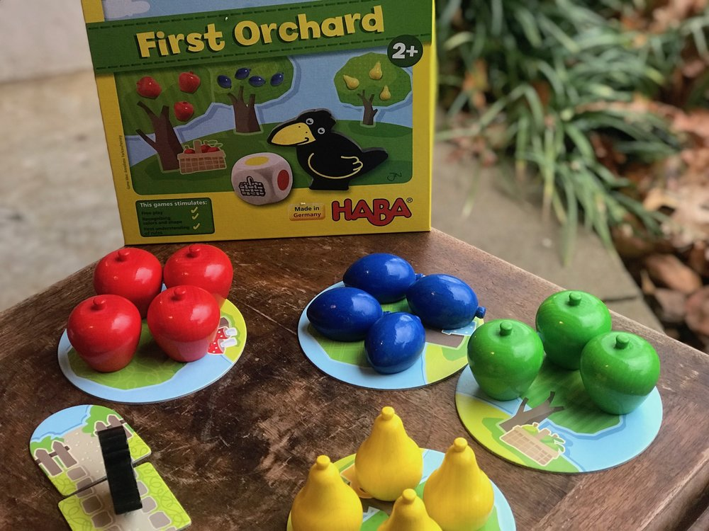 "- ""If you have little ones of your own, you're probably well aware that high-quality wooden game pieces have another big benefit over cheap paper and plastic - it's much harder to destroy!"""