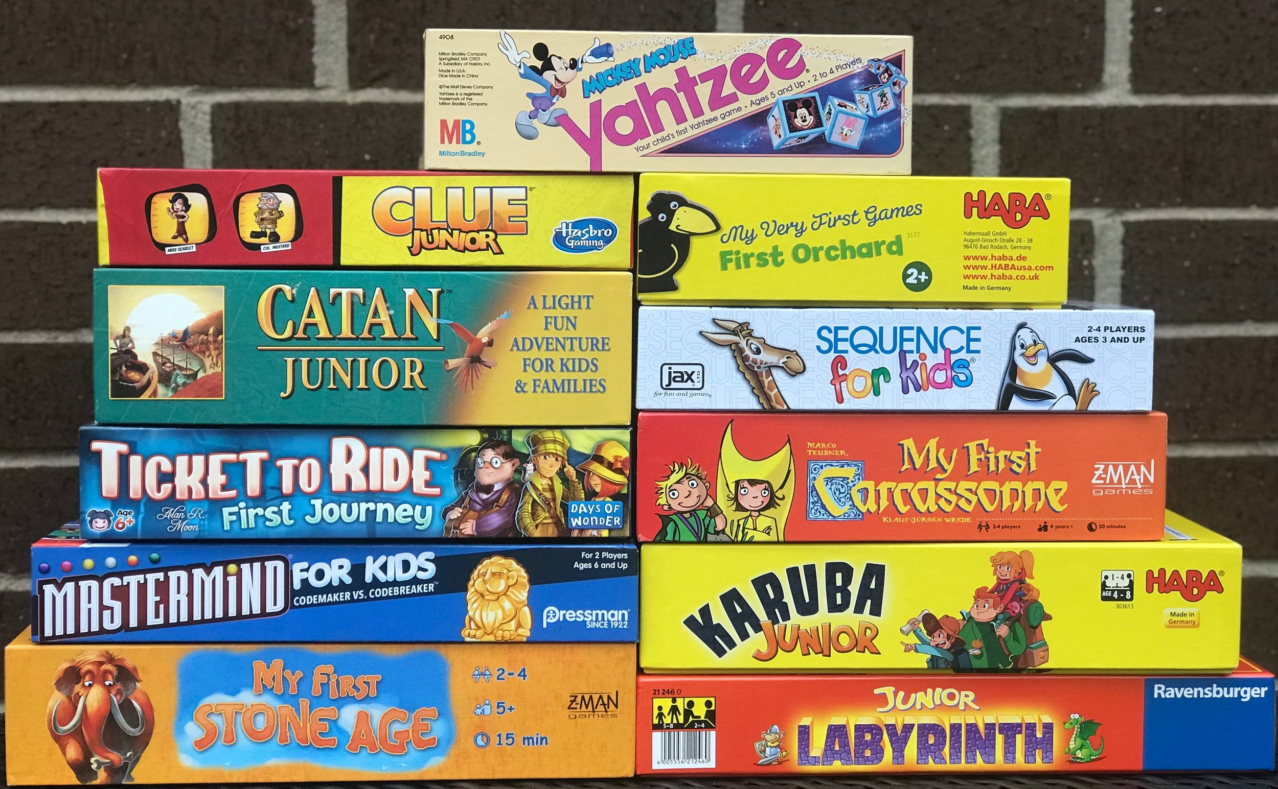 The Top 10 Junior Versions of Board Games | Dad Suggests