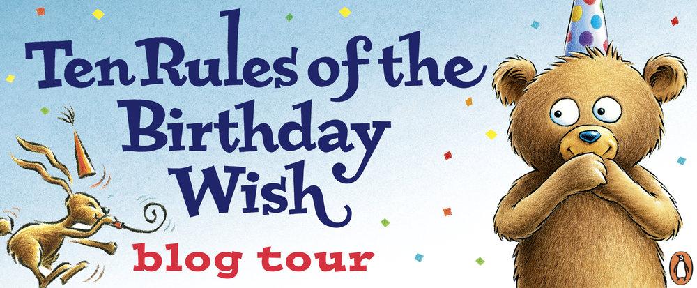 Ten Rules of the Birthday Wish - Blog Tour - Beth Ferry and Tom Lichtenheld