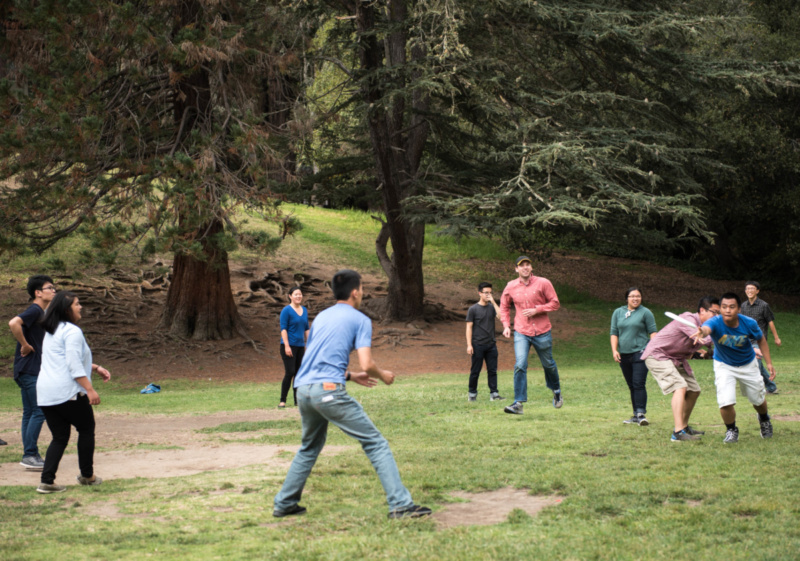 Frisbee at Cordonices