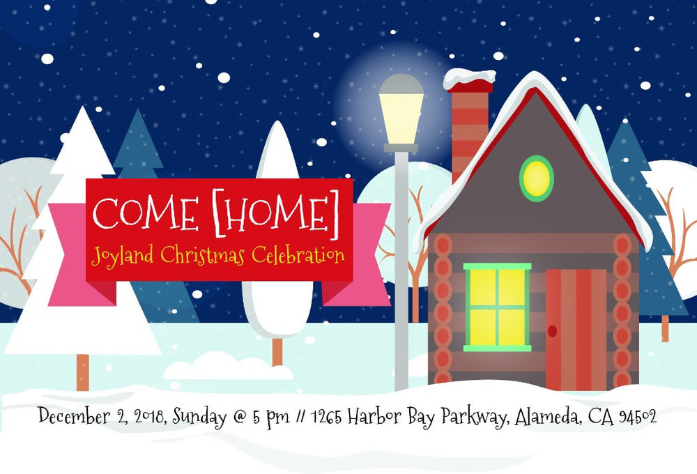 Come hear the Christmas story told through song, dance, and skit by our very own Joyland children!