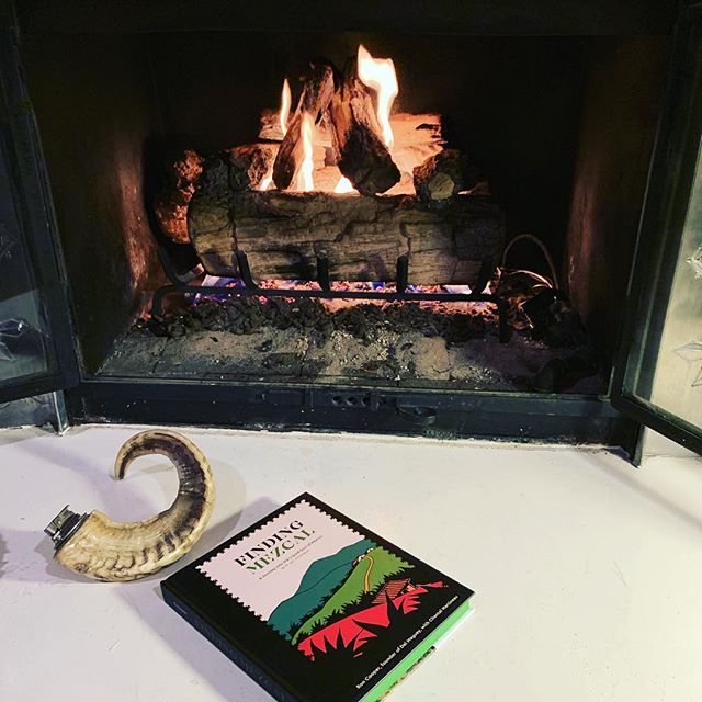 BYOM. Until we have our license, bring you own mezcal over and chill by the fire.