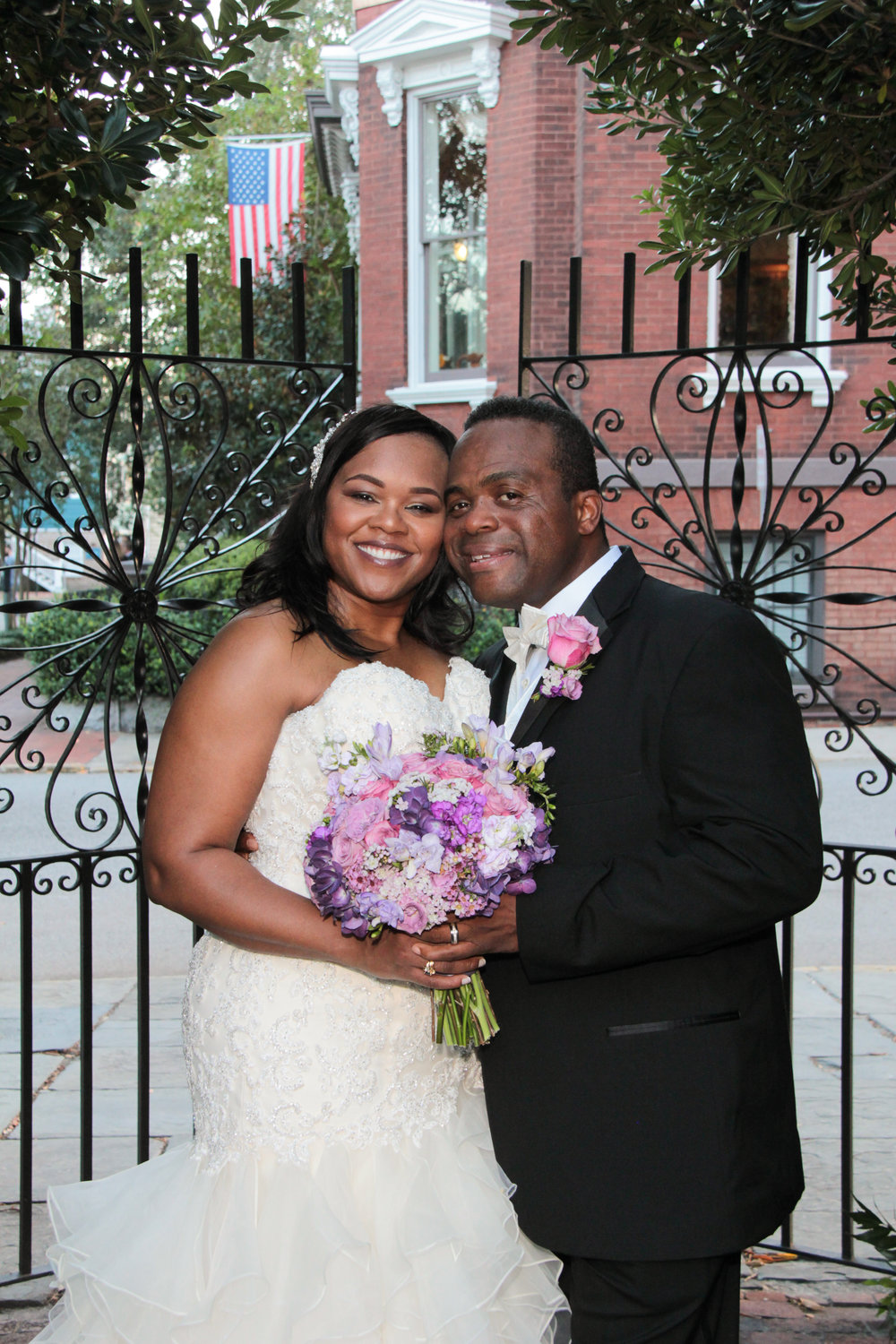 Savannah Wedding package Davenport house garden