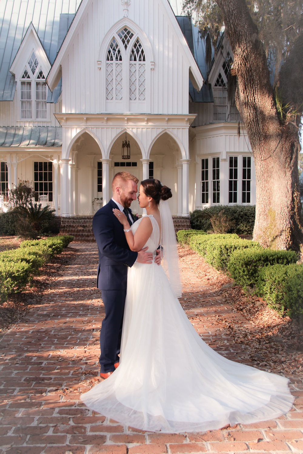 Romantic SC wedding packages  Rose Hill