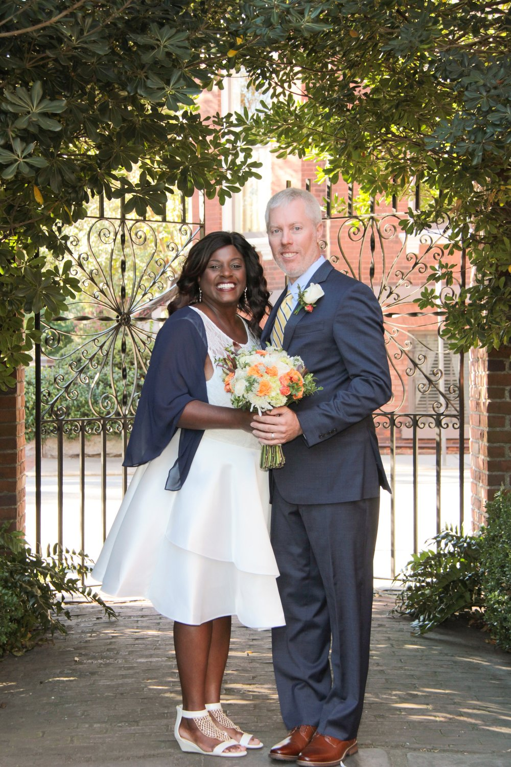 Savannah Wedding Packages Davenport house garden