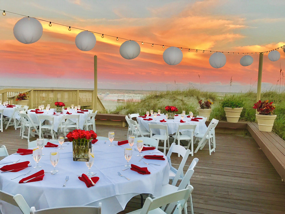 Dunes House Oceanfront wedding venue hilton Head Island Sc