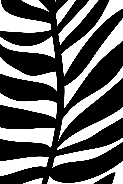 Palm Leaf, $7  —Oju Design, Etsy