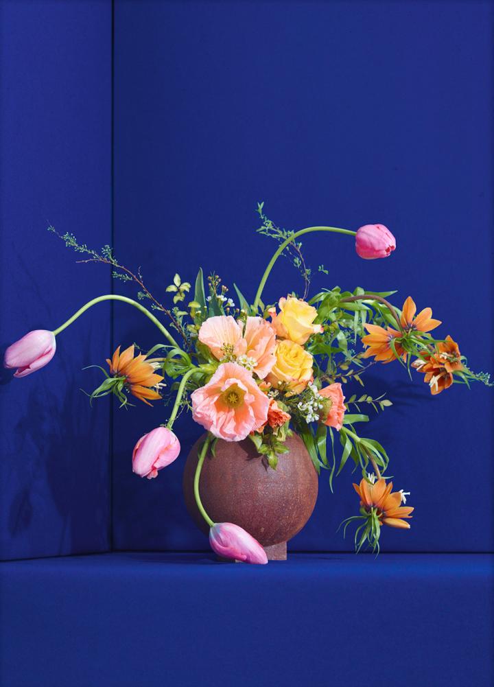 Blomst 01 / Blue, €40  —Uffe Buchard, Paper Collective